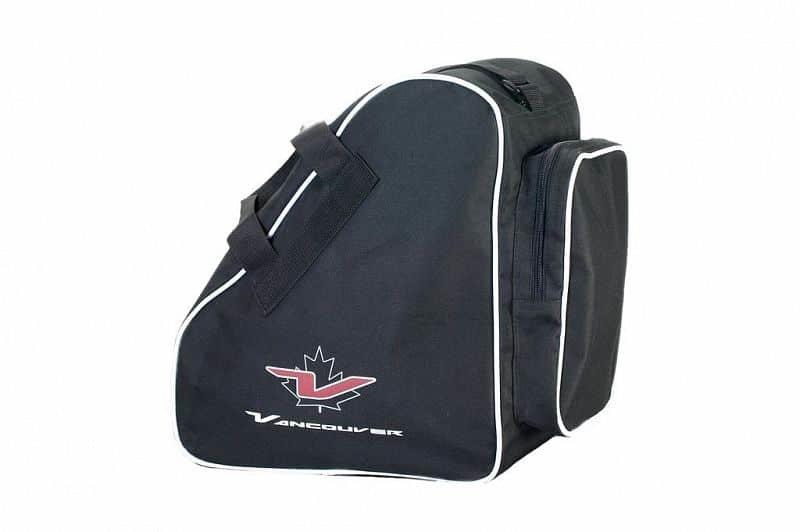 Černá taška na lyžařské boty pro 1 pár Spartan