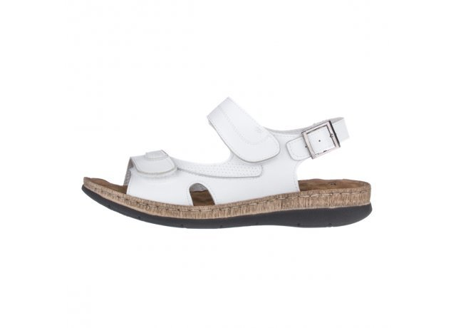 Bílé sandály EFFE TRE