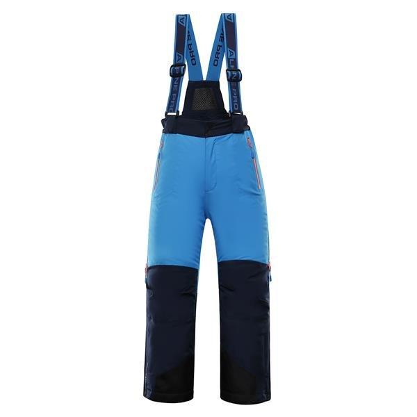 Modré dětské lyžařské kalhoty Alpine Pro