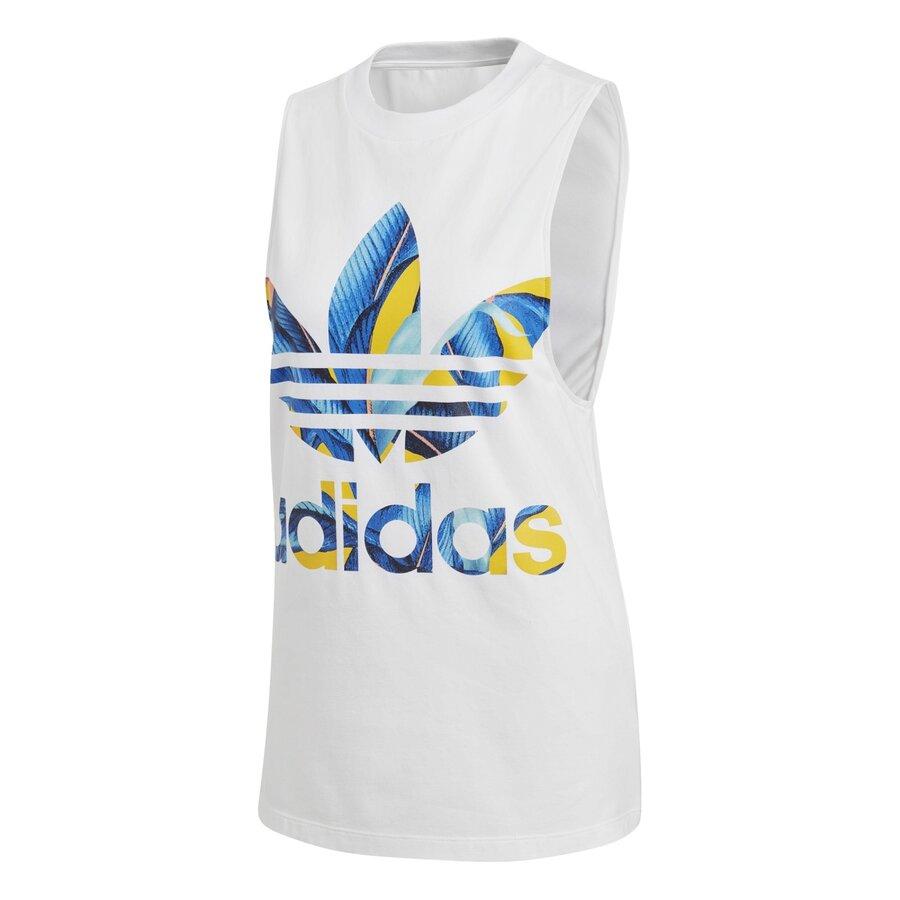 Bílé dámské tílko Adidas - velikost 34