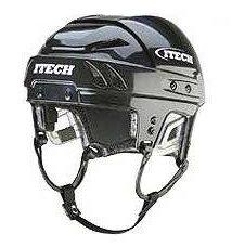 Bílá hokejová helma HC 100 Pro, Itech - velikost 50-53 cm