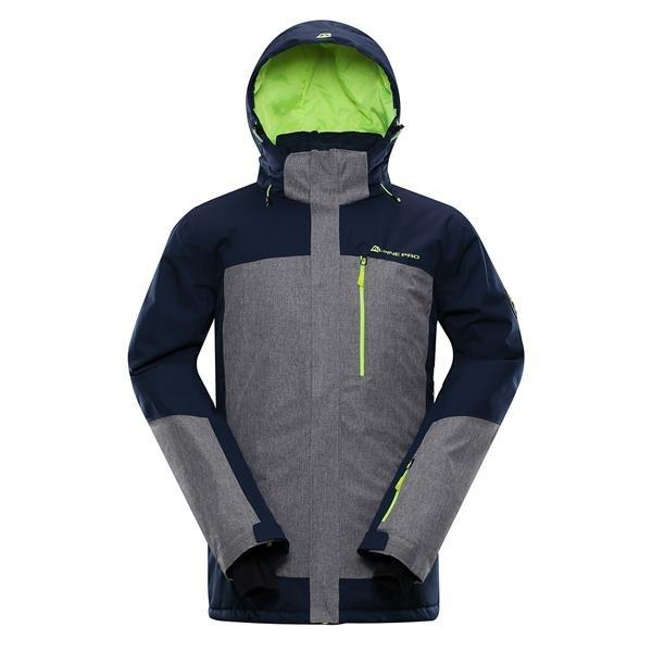 Modrá pánská lyžařská bunda Alpine Pro - velikost S