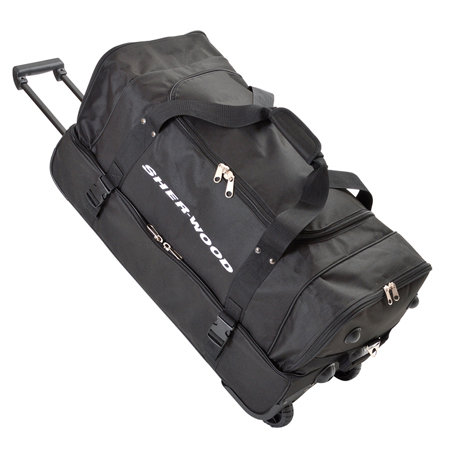 Černá taška na hokejovou výstroj Sher-Wood