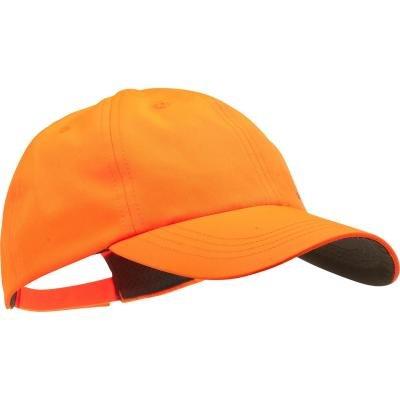 Oranžová dětská taktická kšiltovka Solognac