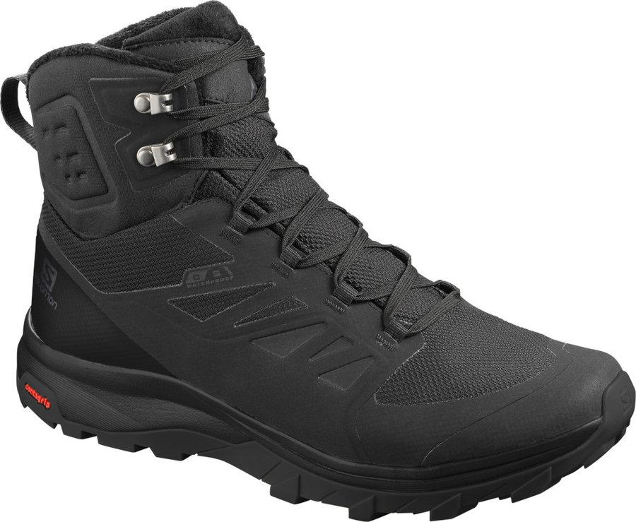 Černé pánské zimní boty Salomon, Sense