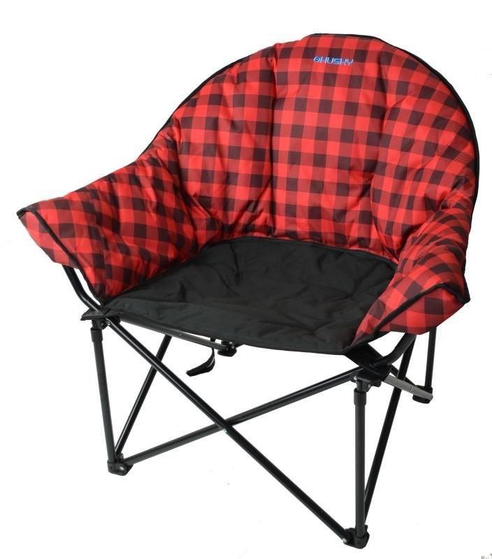 Kempingová židle Husky - nosnost 120 kg