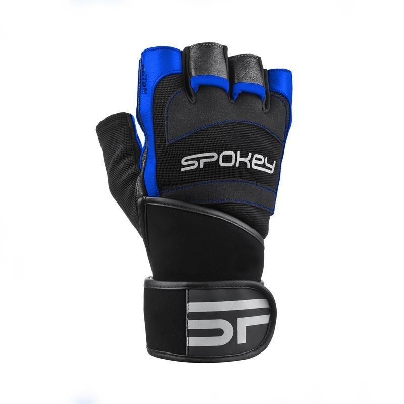 Fitness rukavice - MITON Fitness rukavice černo-červená vel. XL