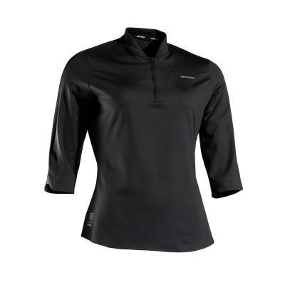 Černé dámské tenisové tričko Artengo