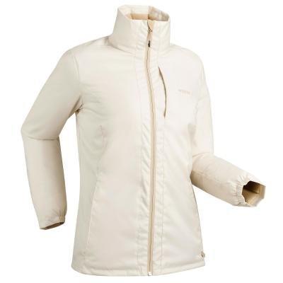 Béžová dámská lyžařská bunda Wed'ze