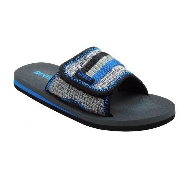 Modré dětské pantofle Aress