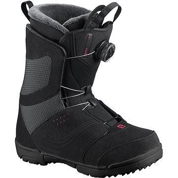 Černé boty na snowboard Salomon - velikost 40 EU