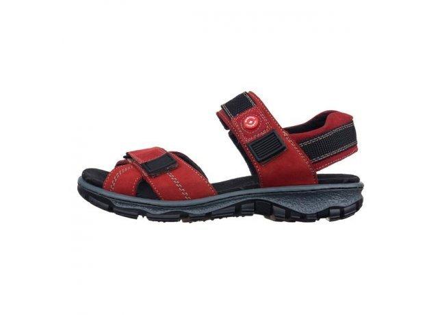 Červené sandály Rieker