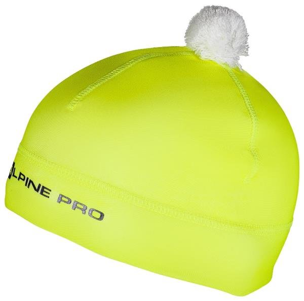 Žlutá dětská zimní čepice Alpine Pro
