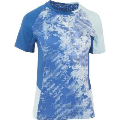 Tričko na badminton - Perfly Dámské Tričko 860 Modré