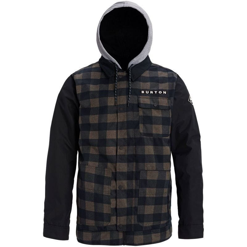 Černá pánská snowboardová bunda Burton - velikost S