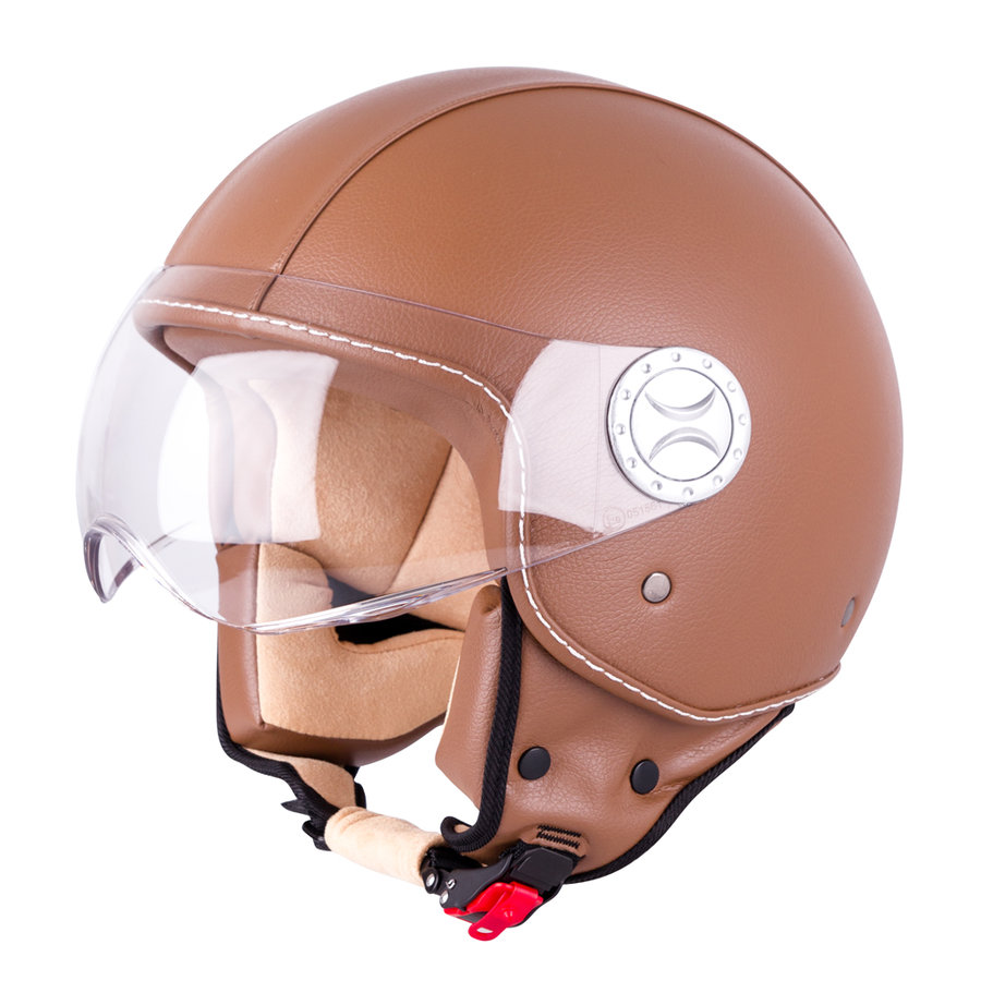Helma na motorku FS-701B, W-TEC
