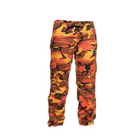 Kalhoty - Kalhoty dámské PARATROOPER ORANGE CAMO