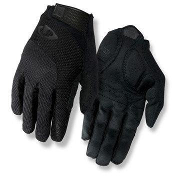 Černé unisex cyklistické rukavice Giro - velikost M