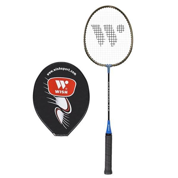 Modrá raketa na badminton Wish - délka 66,5 cm