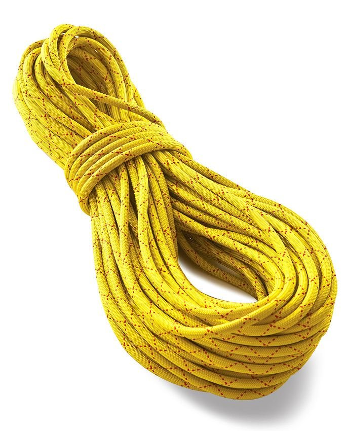 Žluté horolezecké lano Tendon (Lanex) - průměr 10,2 mm