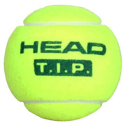 Tenisový míček - T.I.P. Green tenisové míče, středně tvrdé balení: 1 ks