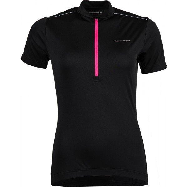 Černý dámský cyklistický dres Arcore
