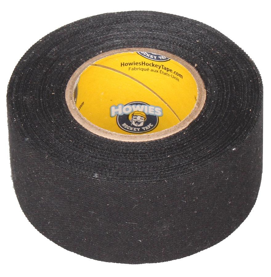 Hokejová omotávka - Howies Textilní páska na hokej 3,8 cm x 14 m černá