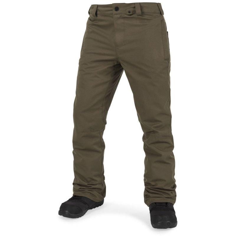 Zelené pánské snowboardové kalhoty Volcom - velikost XL