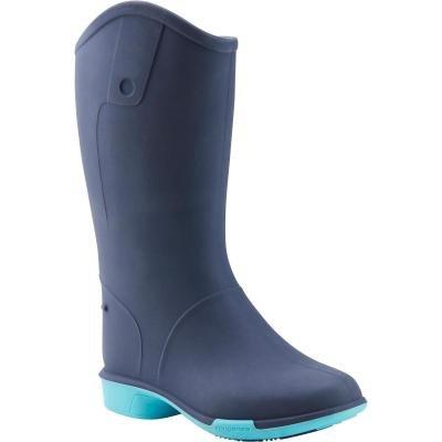 Modré dětské jezdecké boty Fouganza - velikost 23 EU