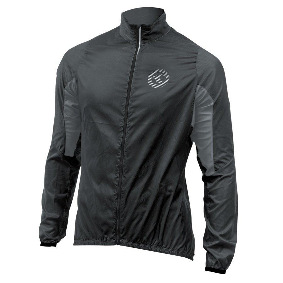 Černá pánská nebo dámská cyklistická bunda Kellys