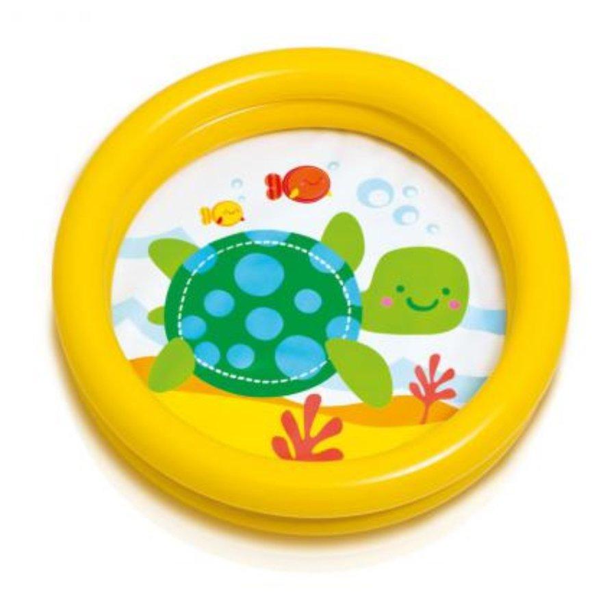 Dětský nafukovací nadzemní kruhový bazén INTEX - průměr 61 cm a výška 15 cm