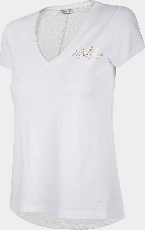 Bílé dámské tričko s krátkým rukávem Outhorn