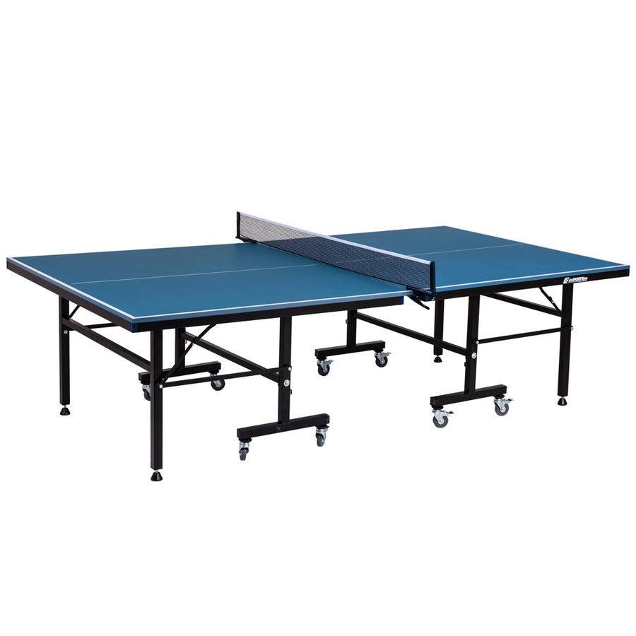 Modrý stůl na stolní tenis Deliro Deluxe, inSPORTline
