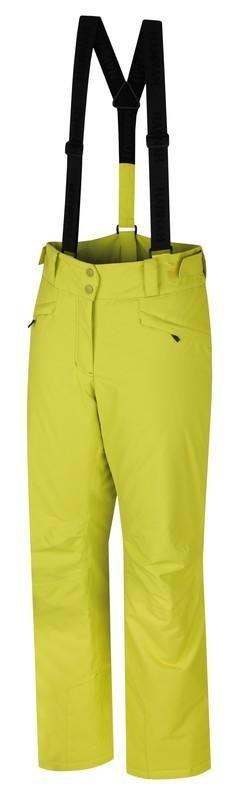 Zelené dámské lyžařské kalhoty Hannah - velikost 34