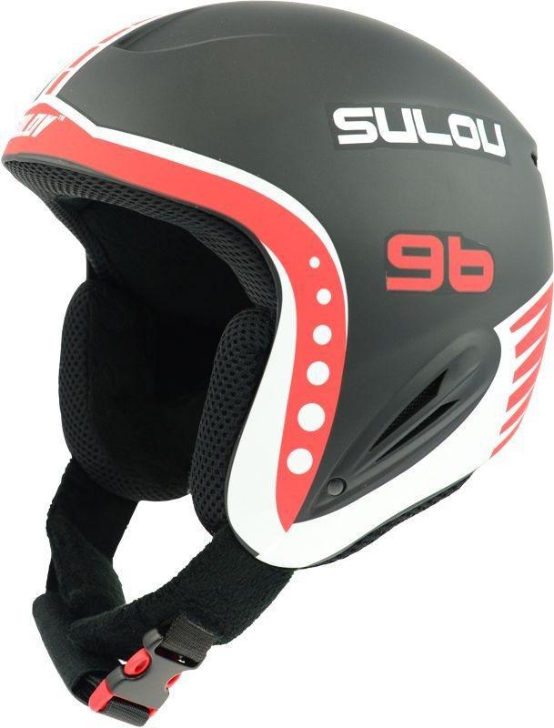 Černá dětská lyžařská helma Sulov - velikost 55-58 cm