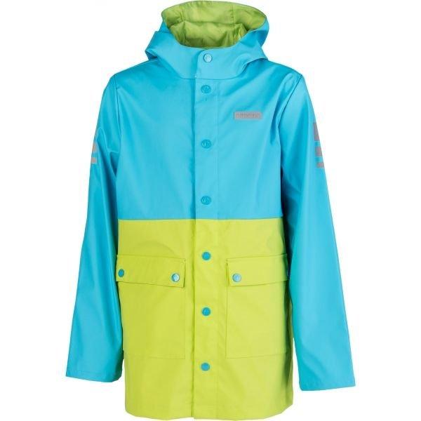 Modro-zelená pláštěnka Head