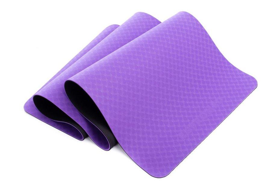 Fialová podložka na cvičení EUPROMED - tloušťka 0,5 cm