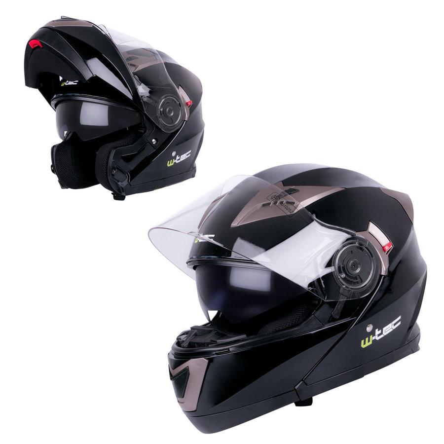 Helma na motorku YM-925, W-TEC