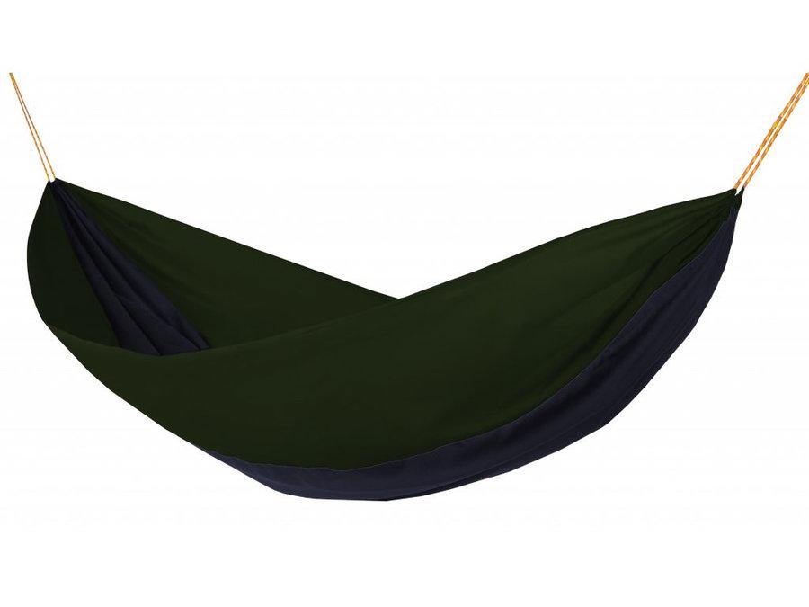 Modro-zelená houpací síť pro 1 osobu Single, Hamaka