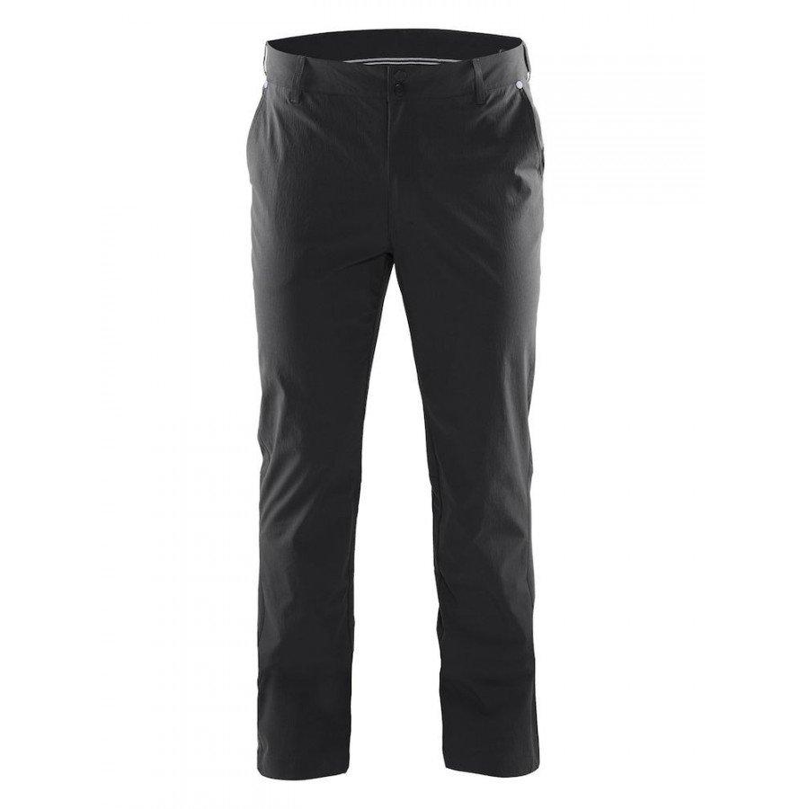 Černé pánské turistické kalhoty Craft