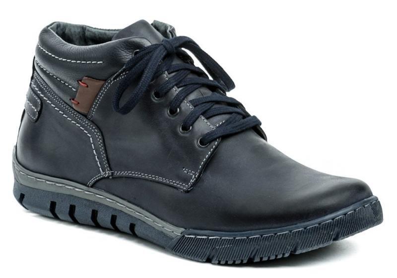 Modré pánské zimní boty Mateos - velikost 43 EU