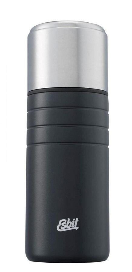 Černá termoska na pití Esbit - objem 0,5 l