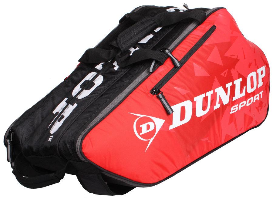 Černo-červená tenisová taška Dunlop