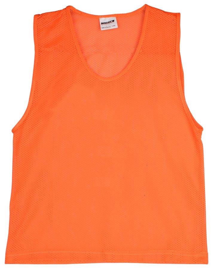 Oranžový rozlišovací dres Merco - velikost XL