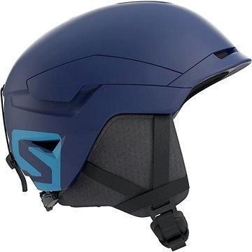 Modrá lyžařská helma Salomon