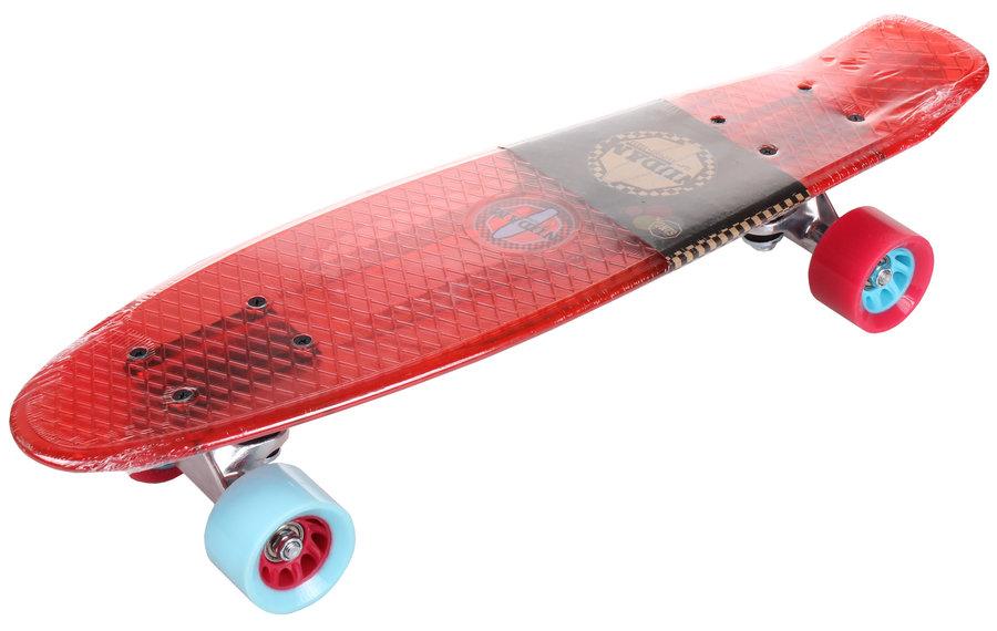Červený pennyboard Nijdam