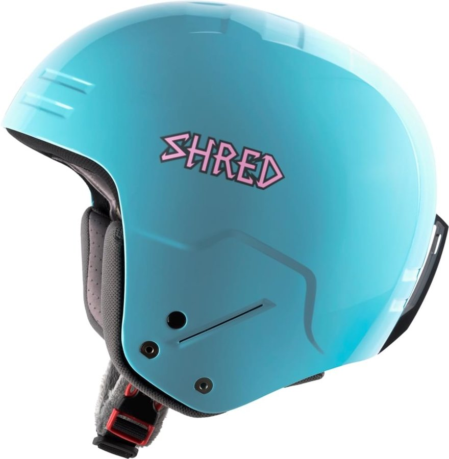 Modrá dámská helma na snowboard Shred - velikost S