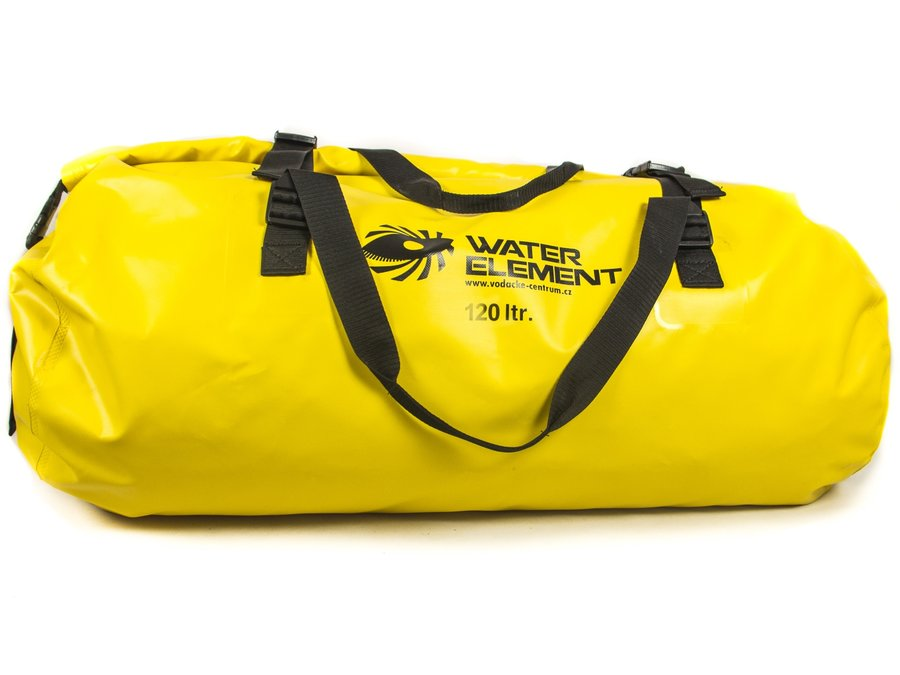 Žlutý lodní vak Jezevčík, WATER ELEMENT - objem 120 l