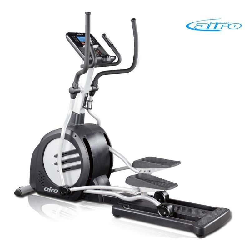 Elektromagnetický eliptický trenažér A-6100G, Airo fitness - nosnost 150 kg