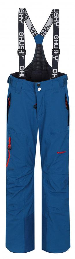Modré dětské lyžařské kalhoty Husky - velikost 140